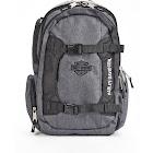 Harley Davidson Equipt Backpack, Grey/Black