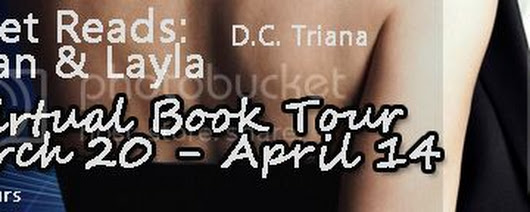 Book Tour: Sunset Reads: Damian & Layla @DCTriana1 #interview and #giveaway