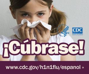Cúbrase la nariz con un pañuelo desechable cuando estornude