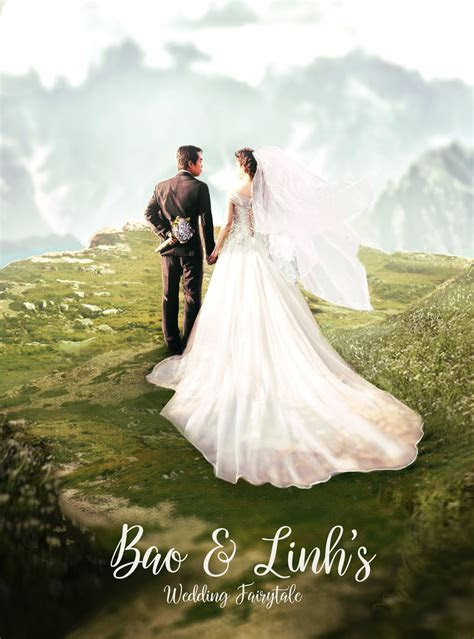 How to Create a Romantic Wedding Photo Manipulation in