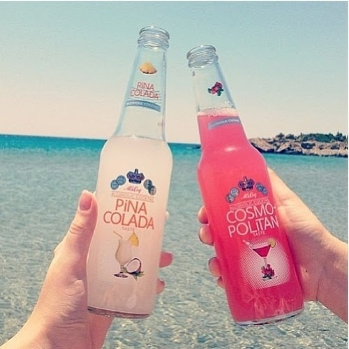 Pink Drinks ♥ on We Heart It.