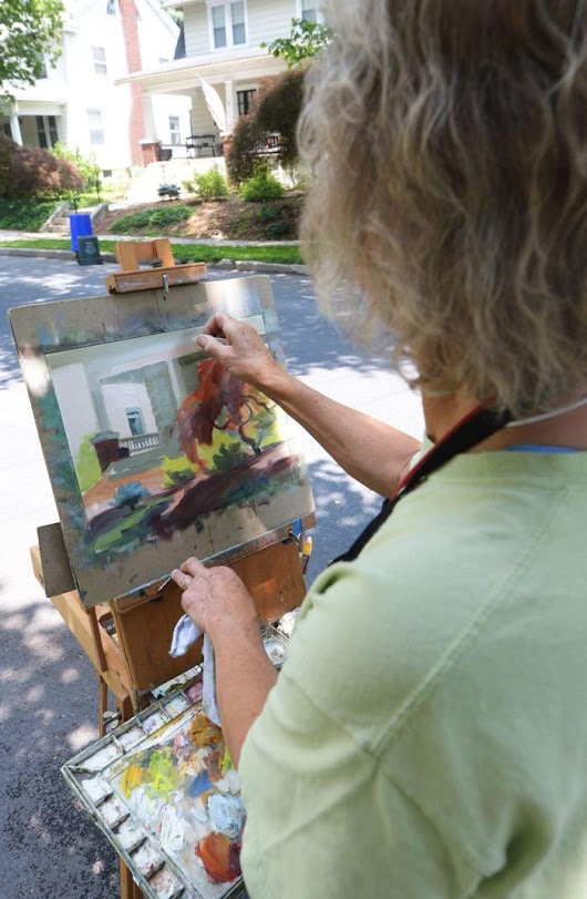 Juried artists to take to streets, park for annual festival