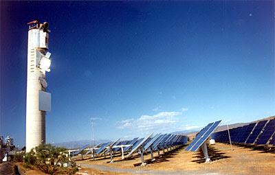 Tabernas Sonnenenergie