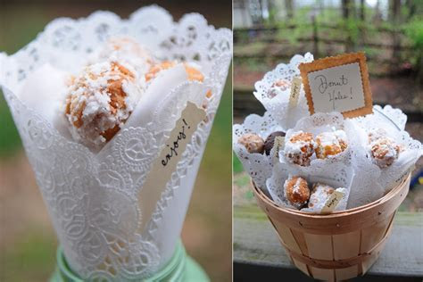 5 unique wedding favor ideas for rustic chic wedding