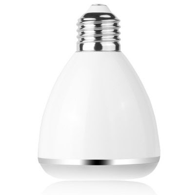 BL08A Smart Bluetooth 4.0 Music Speaker Lamp LED Bulb E27 Intelligent Light Holiday Party Decoration Gift-17.35 Online Shopping| GearBest.com
