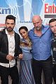 dominic cooper ruth negga get playful at comic con lounge 05