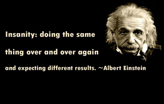 Albert Einstein Quotes Insanity. QuotesGram
