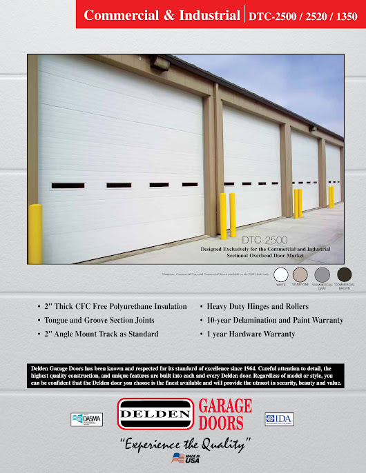 Renner Supply Company Offers 10-years Delamination and Paint Warranty for Polyurethane Overhead Doors - Renner Supply