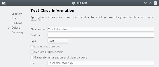 C++ unit testing with Qt Test - part 2 - advanced testing