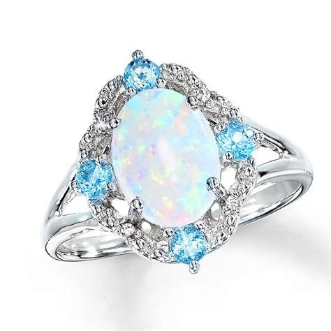 Opal Engagement Rings for Women traditional Way of Wedding