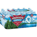 Arrowhead 100% Mountain Spring Water - Natural mineral water - 16.9 fl.oz - pack of 24