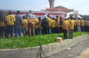 Bunga Landep di Taman Tegalega Bandung Rusak Terinjak Massa Hanura