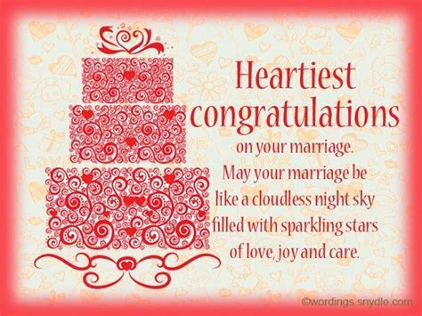 Wedding Wishes Messages and Wedding Day Wishes Wordings