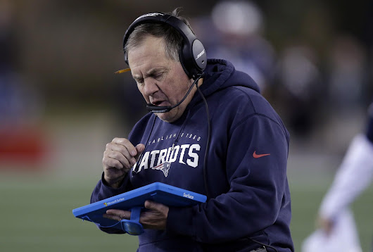 Bill Belichick fed up with Microsoft Surface: 'I'm done with the tablets'