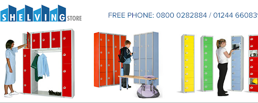 Tips to Keep the Inside of School Lockers Well Organized: shelvingstoreuk