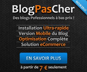 installation et configuration de blog à bas prix