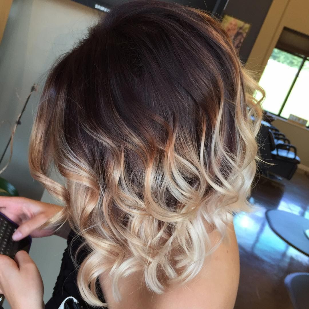 35 Hottest Short Ombre Hairstyles For 2018 Best Ombre Hair Color Ideas