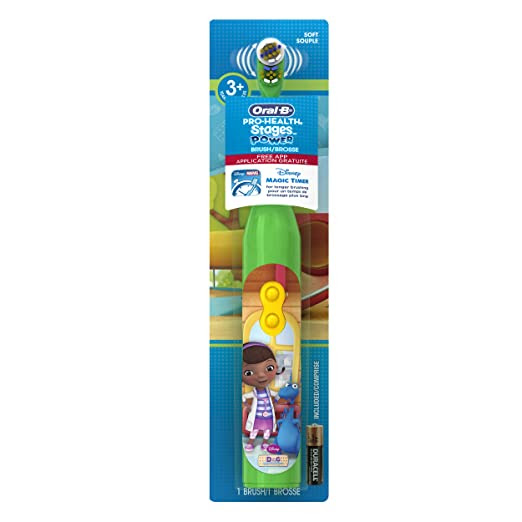 Oral-B Pro-Health Stages Doc McStuffins Power Kids Toothbrush 1 Count