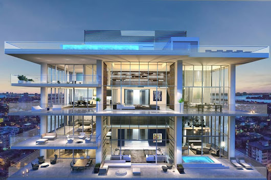 Image: 5 Stunning Miami Beach Penthouses With Pool | DesignRulz