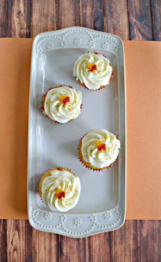Caramel Vanilla Cupcakes - Hezzi-D's Books and Cooks