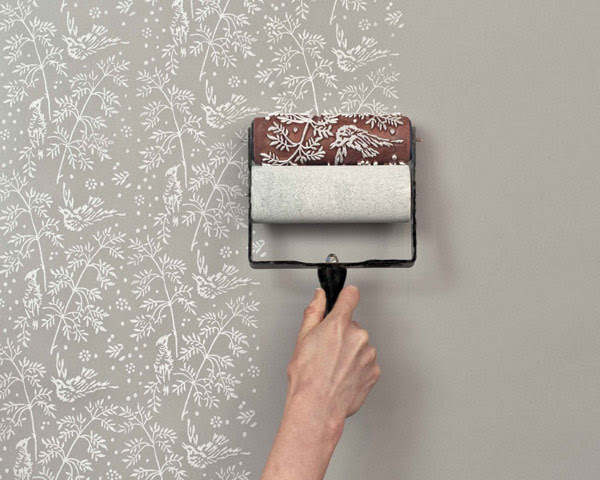 Easily Recreating The Look Of A Classic Wallpaper Patterned Paint