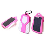 Solar USB Power Bank Dual Phone Charger (Multiple Colors)