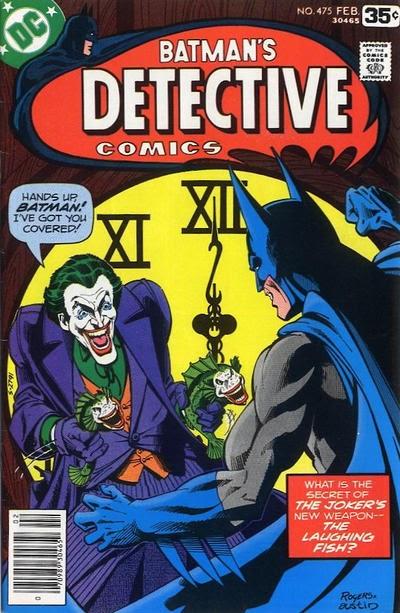 Batman The Laughing Fish Comic