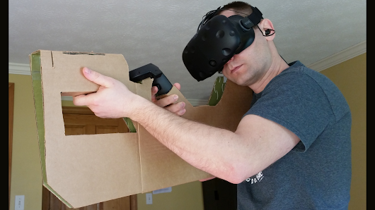 Cardboard shotgun for HTC VIVE and possibly Google Cardboard