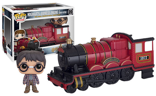 New Funko Includes Hogwarts Express, Buttloose Tina, and DC's Legion of Collectors