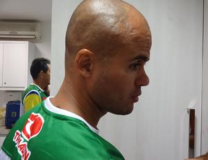 Ruy Cabeção treinou no coletivo e deve estrear com a camisa do Alecrim (Foto: Gabriel Peres/Divulgação)