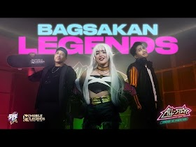 Bagsakan Legends by Andrea Brilliantes, Dogie, ChooxTV & Eruption [Official Music Video]