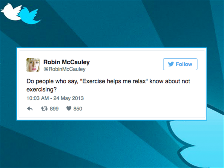 Best Of Funny Twitter Quotes About Not Going To The Gym ...