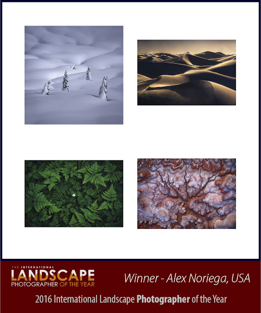 Results of the 2016 International Landscape Photographer of the Year