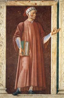 Dante Alighieri - Andrea del Castagno