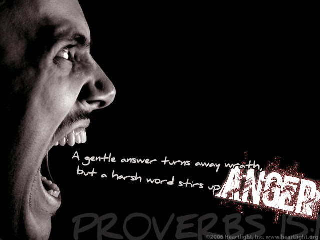 Inspirational illustration of Proverbs 15:1
