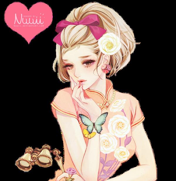 Render #90 - Cute Girl by Nuuii