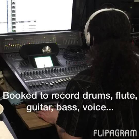 SoundworksRecNY — Booked to record #drums, #flute,  #guitar, #bass,...