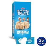 Kellogg's Rice Krispies Treats (1.3 oz., 25 ct.)
