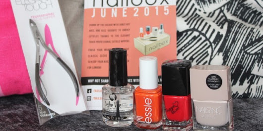 NailBox June 2015 – UK Monthly Nail Polish Subscription
