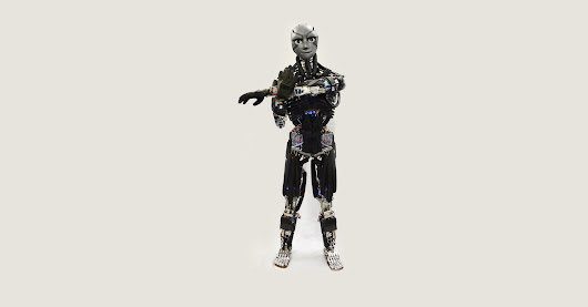 A Freaky Humanoid Robot That Sweats as It Does Push-Ups | WIRED