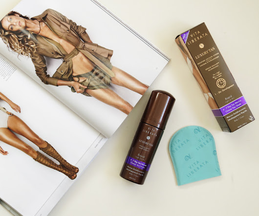 How to Apply Vita Liberata Luxury Fake Tan - Lizaboo