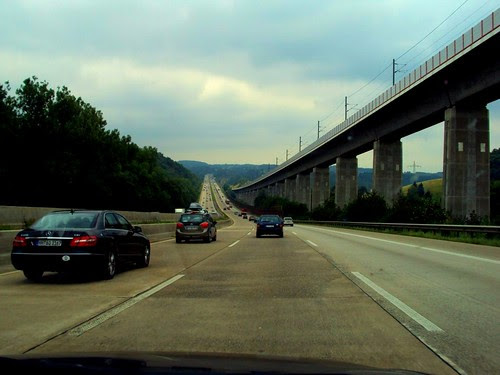 Germany to Budapest, Sights on the Road