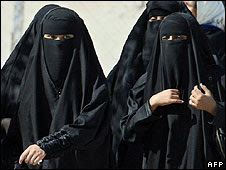 Group of Arab women