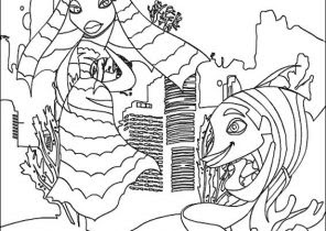 Shark Tale Coloring Pages - Coloring4Free.com