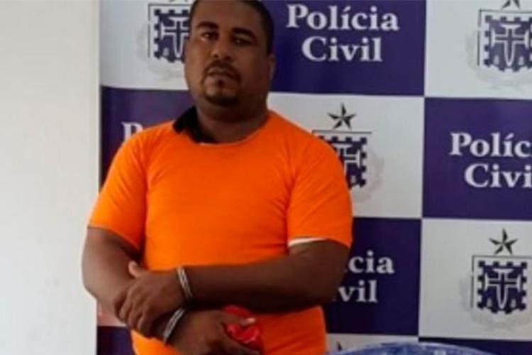 Gilson de Jesus foi preso no ano passado por tráfico de drogas - Foto: Reprodução | Acorda Cidade