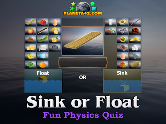 Sink or Float | Physics Online Quiz