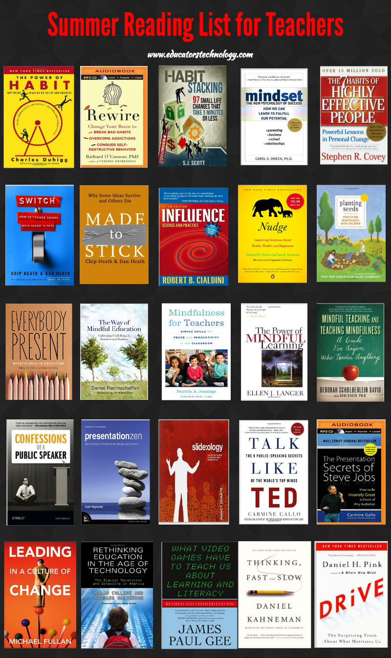 An Excellent Summer Reading List for Teachers and Educators