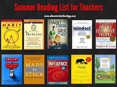 A Great Summer Reading List for Teachers