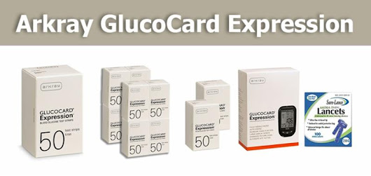 Arkray GlucoCard Expression Glucose Monitoring Products