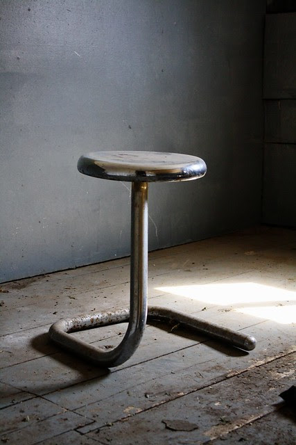 Finally, a stool that isn't from a raccoon